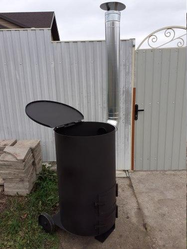 """Печь """"СМУГЛЯНКА"""" 250Л (для сжигания садового мусора) (NADA)"""