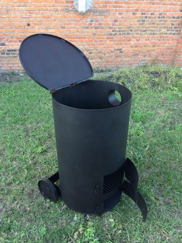 """Печь """"СМУГЛЯНКА"""" 250Л (для сжигания садового мусора)"""