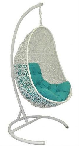 Подвесное кресло, Easy white