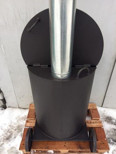 Мусоросжигательная садовая печь УСМ-200 (Утилизатор) (NADA)