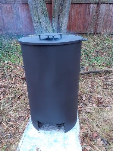 """Печь """"Бочка"""" 3М для сжигания мусора (NADA)"""