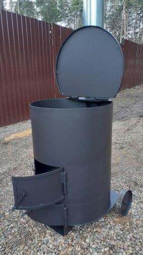 """Печь для сжигания мусора """"Золушка""""-1 особопрочная (NADA)"""