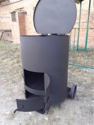 """Печь-бочка сжигания мусора """"Смуглянка"""" 200 Л Nada"""