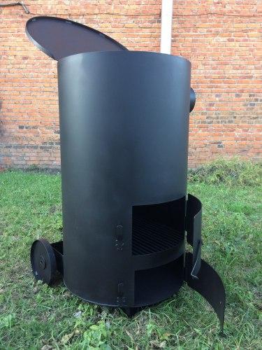 """Большая печь для сжигания мусора """"Смуглянка"""" супер"""