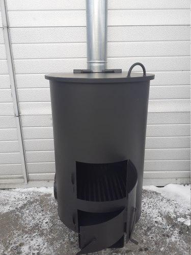 """Печь для сжигания садового мусора """"Золушка""""-2 (4 мм)"""