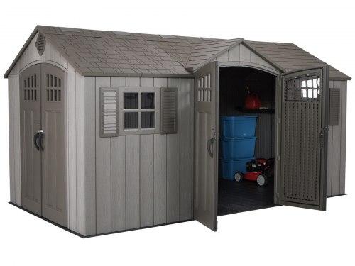 Сарай-гараж WoodLook 15'x8'