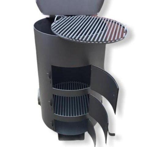 Печь - бочка для сжигания мусора МаУгли (4 мм)