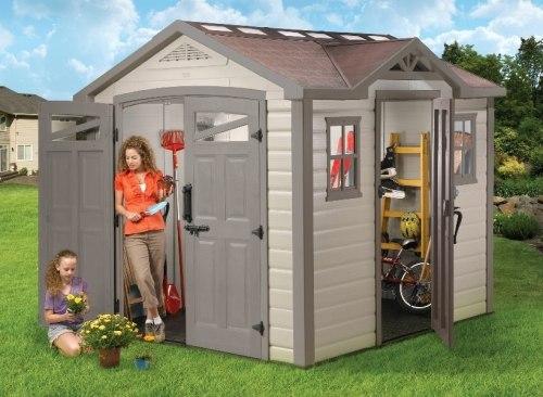 Хозблок-гараж пластиковый SUMMIT (7,3 кв.м.)
