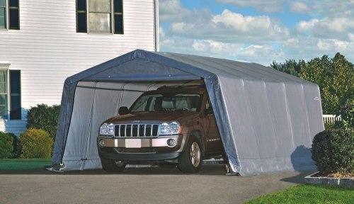 Тентовый гараж для машины 3,7*6,1*2,4м