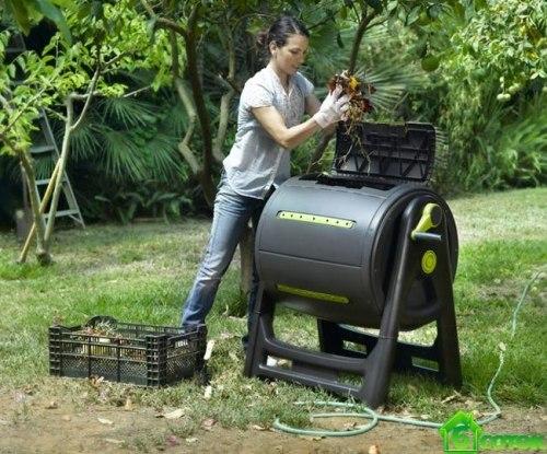Компостер пластиковый KETER Compost Mixer