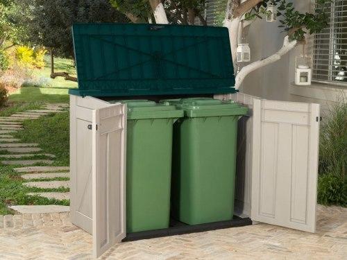 Пластиковый ящик для дров Woodland Store it out ARC