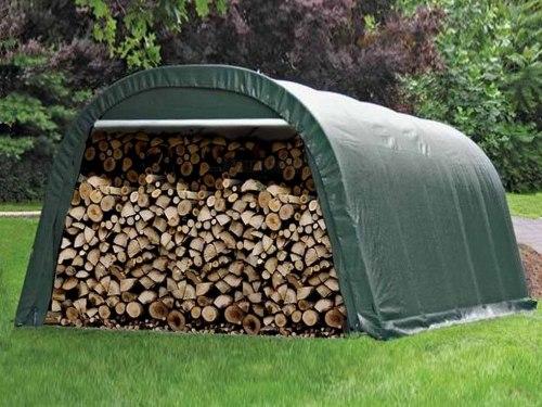 Укрытие для дров CoverIT 3,0x6,0x2,4 м