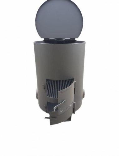"""Печь - бочка для сжигания мусора """"Золушка"""" 1 ( 5мм )"""