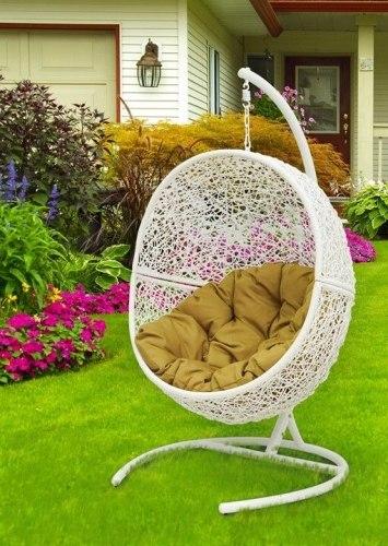 """Подвесное кресло """"Lunar White"""""""