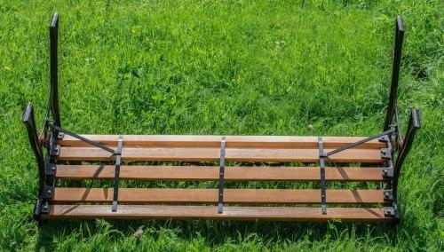 """Скамейка садовая """"Лилия"""" G-242"""