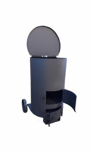 """Печь для сжигания мусора """"Дым - Дымок"""" 4 мм (130 л)"""