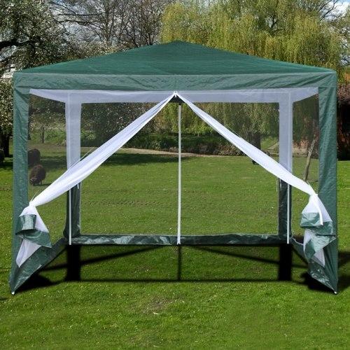Садовый тент шатер с москитной сеткой-3x3m