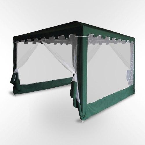 Садовый шатер с москитной сеткой-3x3m
