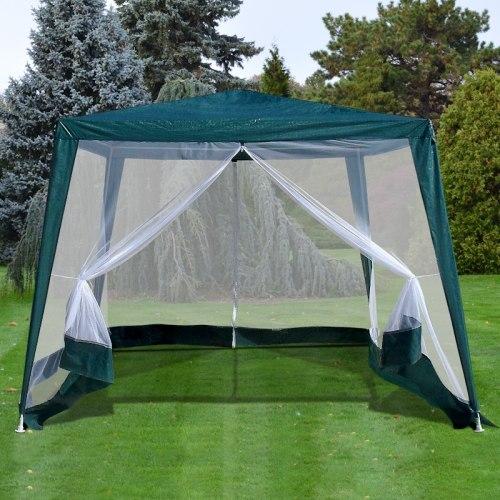 Тент шатёр с москитной сеткой 3x3x2.4м. (А)