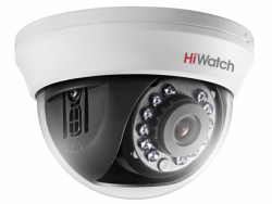 Купольная HD-TVI камера HiWatch DS-T101 (6 mm)