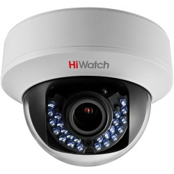 Купольная HD-TVI камера HiWatch DS-T107 (2.8-12 mm)