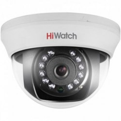 Купольная HD-TVI камера HiWatch DS-T201 (6 mm)