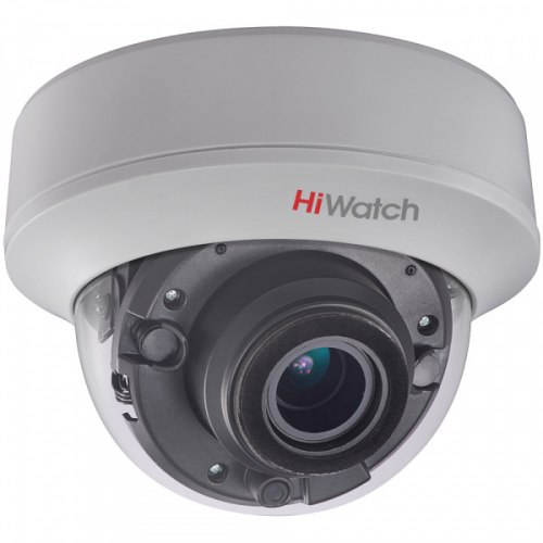 Купольная HD-TVI камера HiWatch DS-T507 (2.8-12 mm)