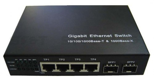 Коммутатор Ethernet SF&T SF-G6M4T/W-N