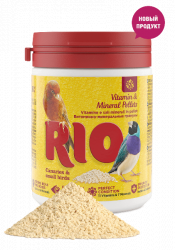 Гранулы RIO Витаминно-минеральные для канареек, экзотов и других мелких птиц, 120 г