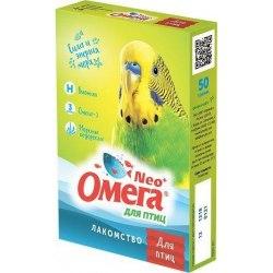 Лакомство Омега Нео + с биотином для птиц
