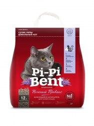 Наполнитель PiPiBent Нежный прованс, бентонит 5 кг