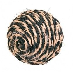 Игрушка TRIXIE сизалевая в виде мячика с кошачьей мятой, 6 см