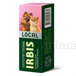 Биокапли ИРБИС ЛОКАЛ глазные, для кошек и собак, 15 мл