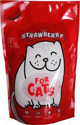 Наполнитель For CATS 4л, в ассортименте