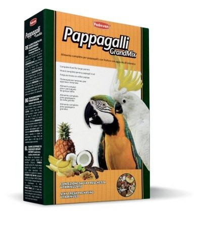Корм GRANDMIX Pappagalli для крупных попугаев 600г