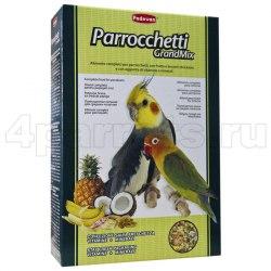 Корм GRANDMIX Parrocchetti для средних попугаев 850г