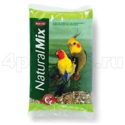 Корм NATURALMIX Parrocchetti для средних попугаев 850г