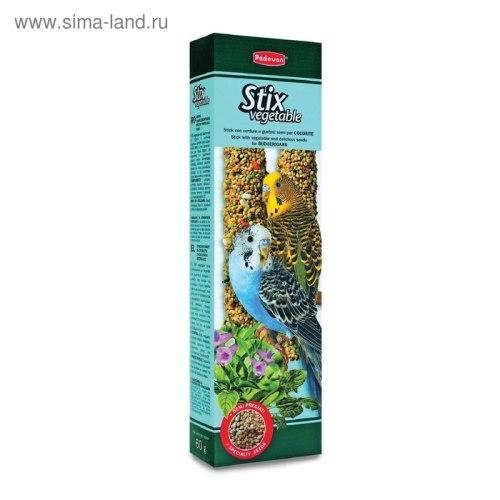 Палочки Padovan овощные для волнистых попугаев 80г