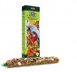 Палочки Padovan фруктовые для крупных попугаев 150г