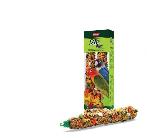 Палочки Padovan фруктовые для средних попугаев 100г