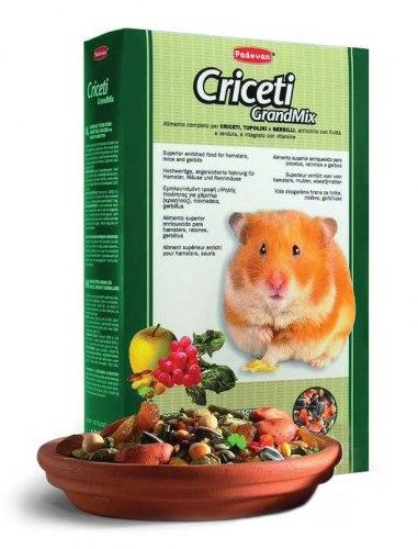 Корм GRANDMIX Criceti для хомяков и мышей 1кг