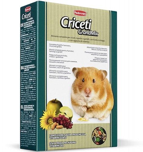 Корм GRANDMIX Criceti для хомяков и мышей 400 г