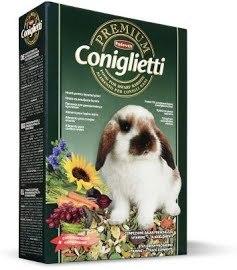 Корм PREMIUM Coniglieti для кроликов, молодняка 500г