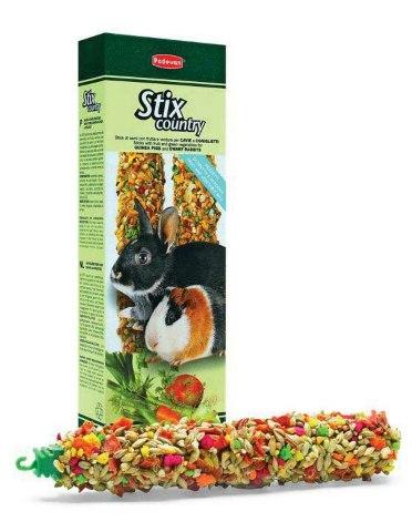 Палочки Padovan овощные для кроликов и морских свинок 100г