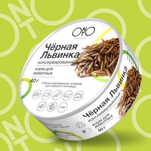 Черная львинка ONTO Biotechnology консервированная 40гр