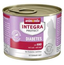 Влажный корм Animonda Интегра Протект для кошек с диабетом 200г, говядина