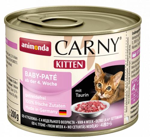 Влажный корм Animonda Карни Бэби для котят паштет 200г
