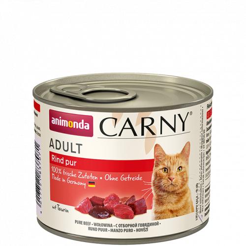 Влажный корм Animonda Карни для кошек говядина 200г