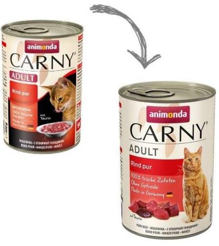 Влажный корм Animonda Карни для кошек говядина 400г