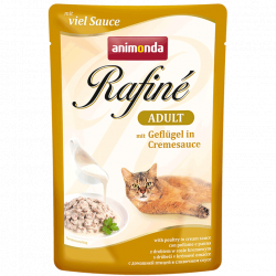 Влажный корм Animonda Рафин Суп Адульт для кошек птица в сливочном соусе 100г